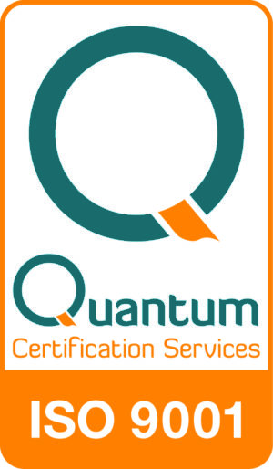 Quantum Certification Mark ISO-9001 Logo