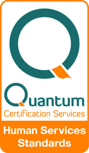 Quantum Certification Mark Human services standards Logo